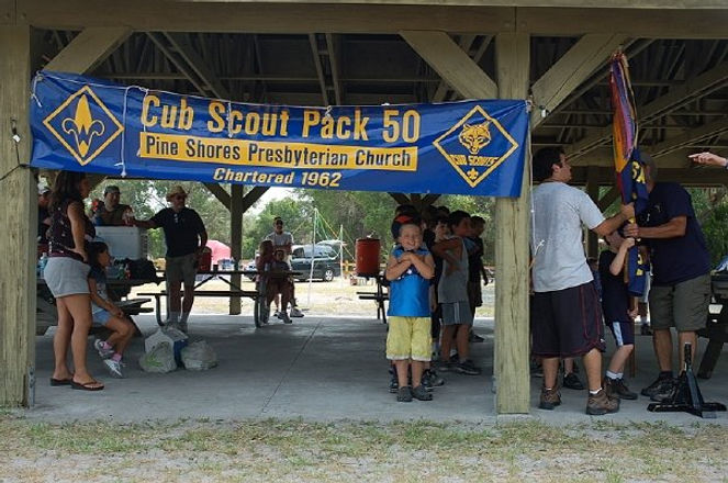 Pack 50 of Pine Shores Chartered 1962