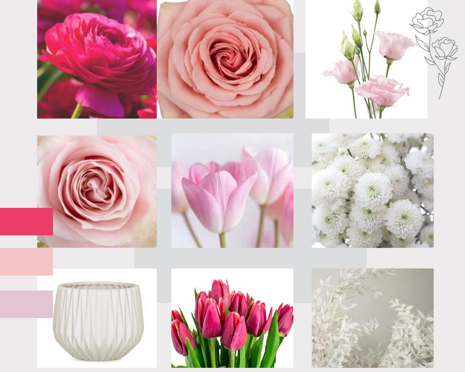 Vase Arrangement - $75 + HST =$84.75