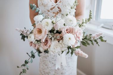 Gorgeous peony dahlia ranunculus rose br