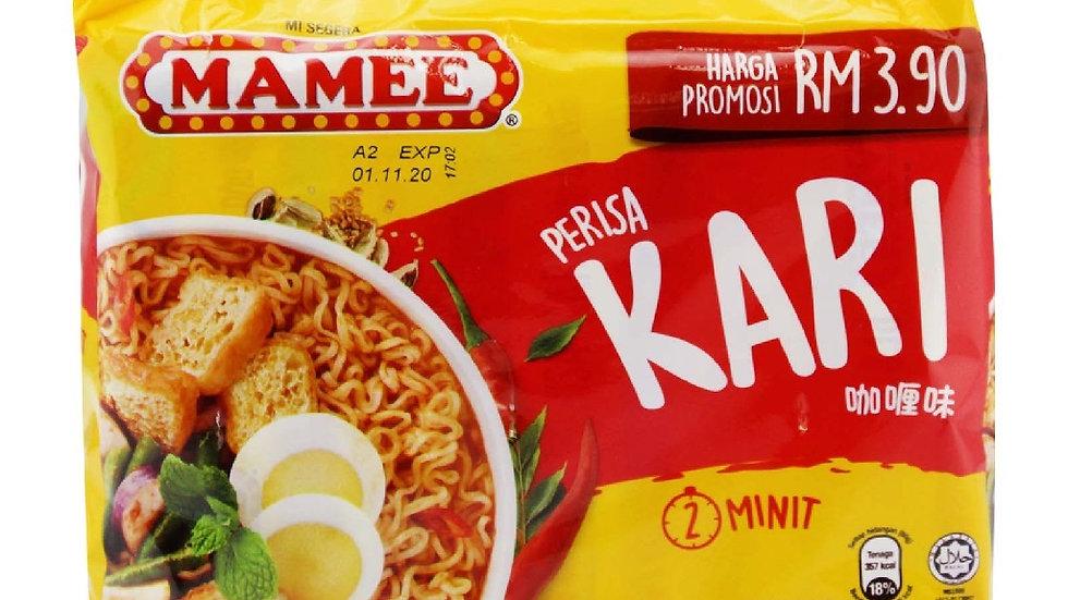 Mamee Instant Noodles - Kari (75g x 5)