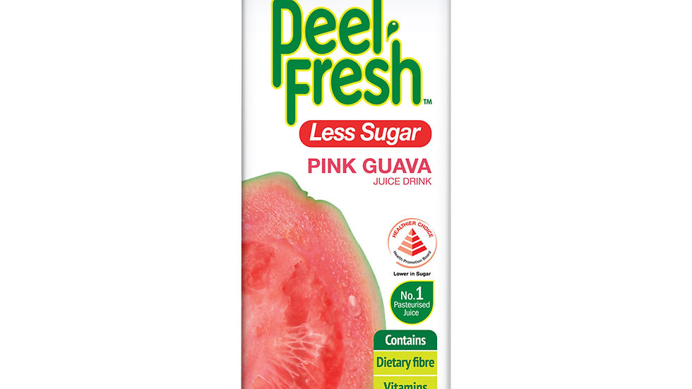 Marigold Peel Fresh Juice - Pink Guava Less Sugar 1L