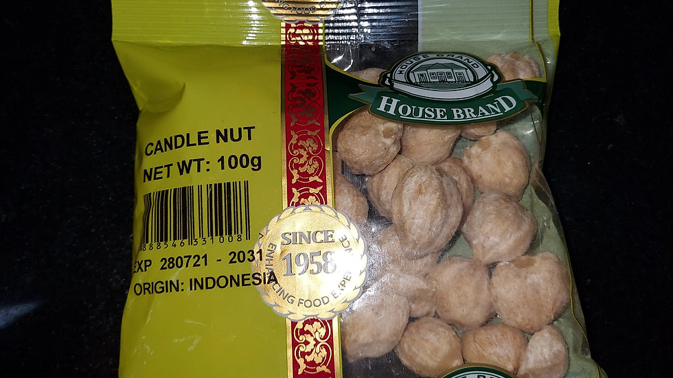 House Brand Candle Nut 100G
