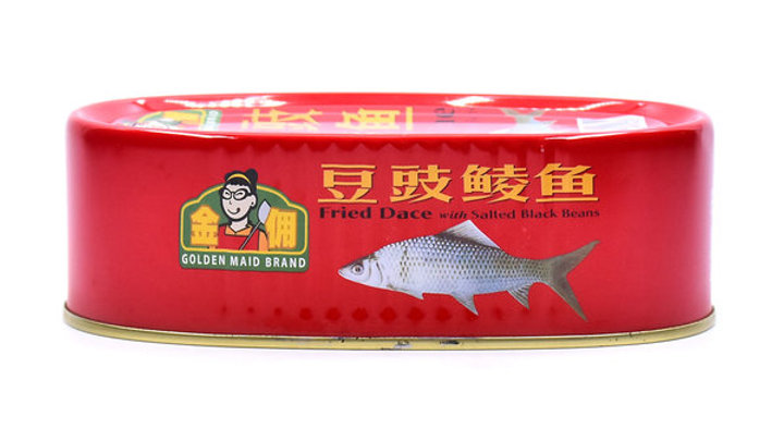 Golden Maid Brand Fried Dace With Salted Black Beans 184G