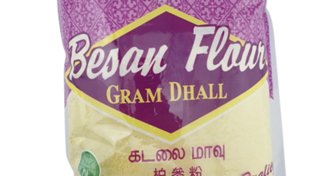 House Brand Besan Flour Gram Dhall 500G