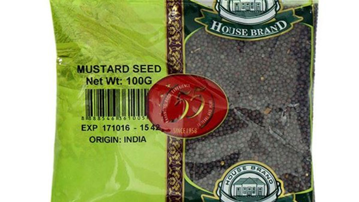 House Brand MUSTARD SEEDS 100G