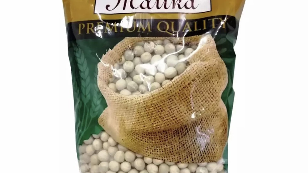 MALIKA Dry Green Peas 500G
