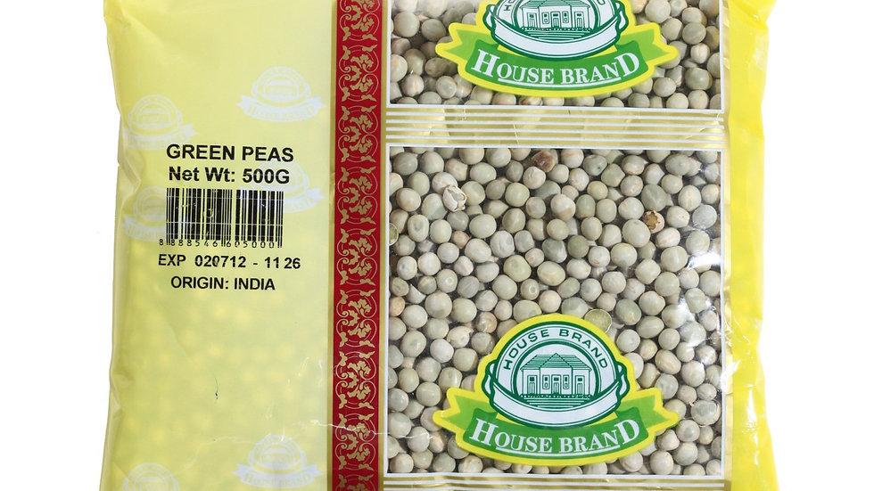 House Brand Green Peas 500G