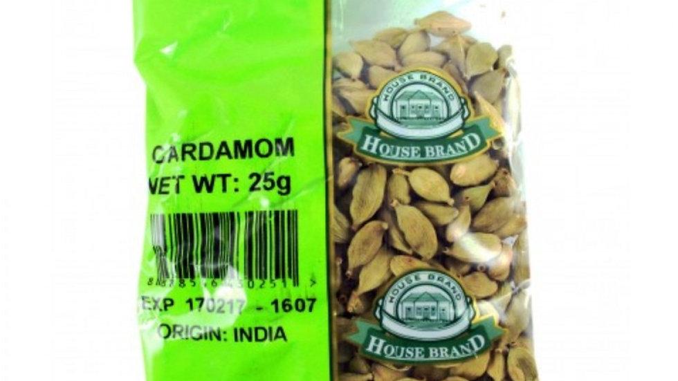 House Brand Cardamom 25g
