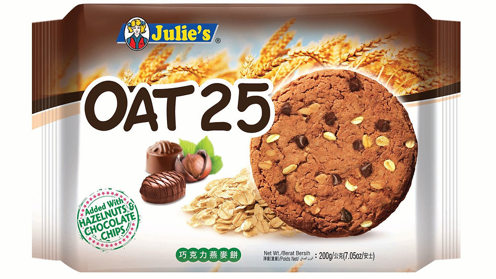 Julie's Oat 25 Chocolate 200G