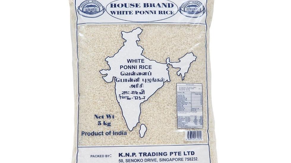 House Brand Ponni Rice 5KG