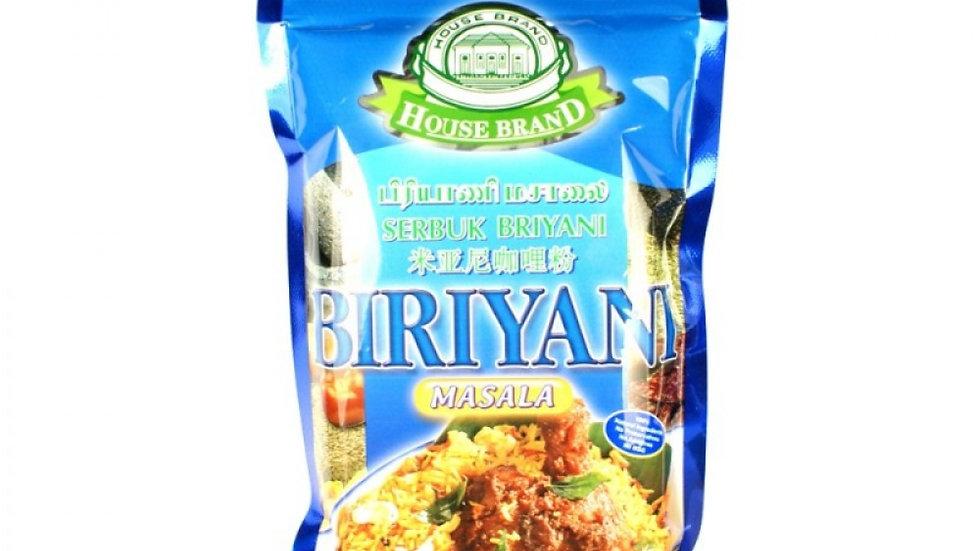 House Brand Biriyani Masala 125G
