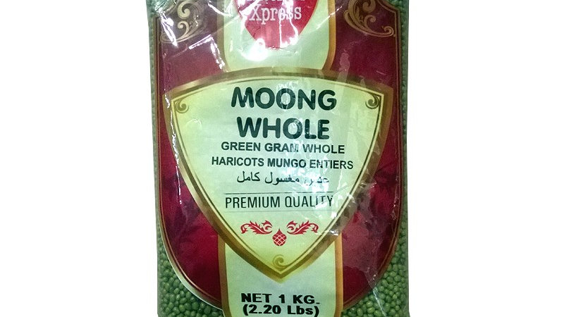 KITCHEN EXPRESS MOONG WHOLE 1KG Green Beans
