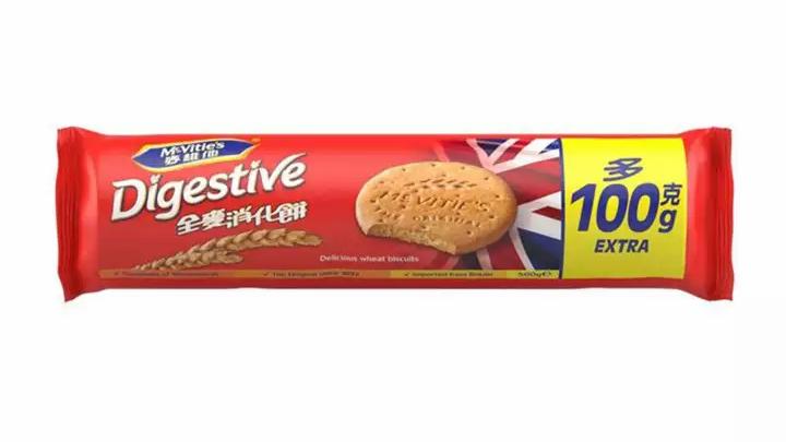 McVitie's Original Digestive Wheat Biscuits (Extra 100 G) 500G