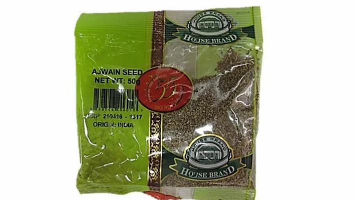 House Brand Ajwain Seeds 50g