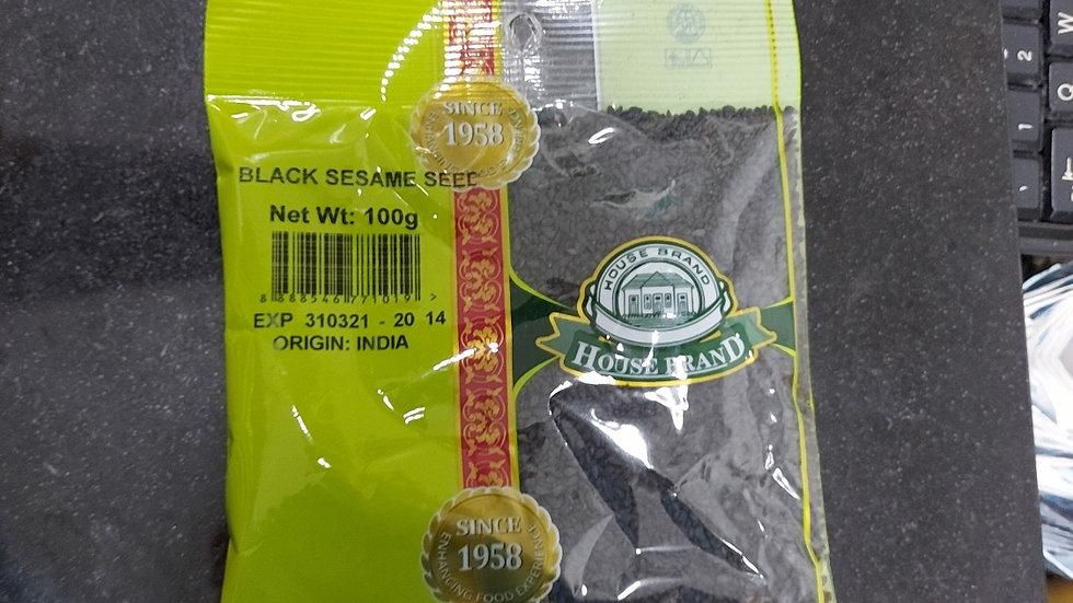 House Brand Black Sesame Seed 100G