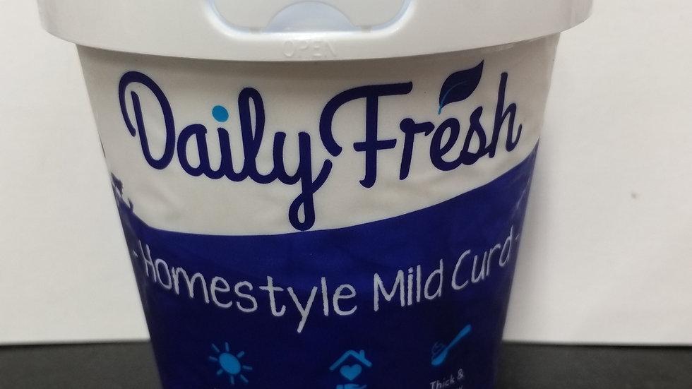 Daily Fresh Homestyle Mild Curd 400ml Yoghurt
