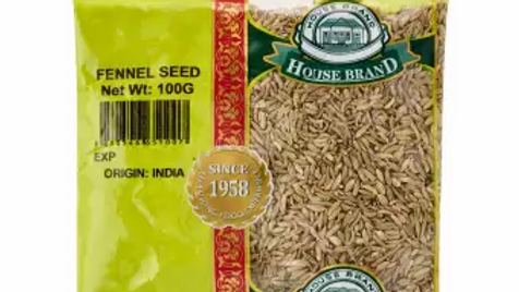 House Brand FENNEL SEED 100G