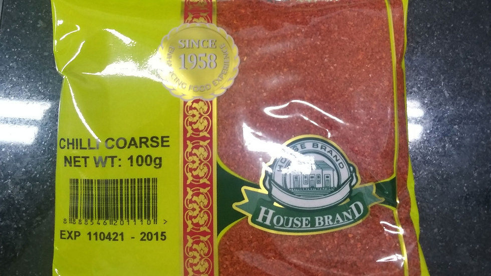 House Brand Chilli Coarse 100G