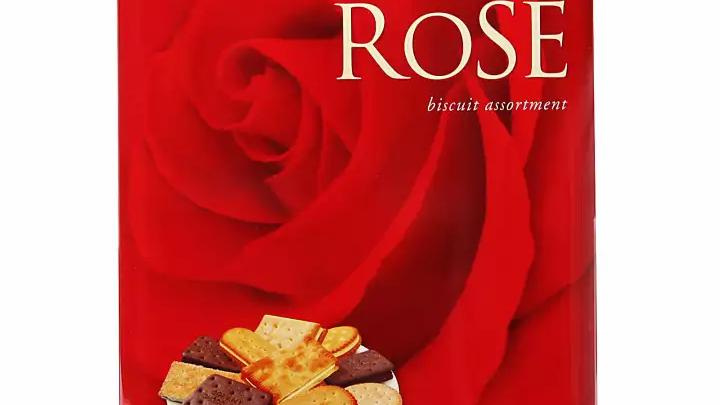 Khong Guan Rose Tin Assorted Biscuit 700G