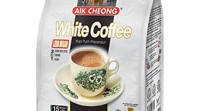 Aik Cheong White Coffee Less Sugar (40g x 15's)