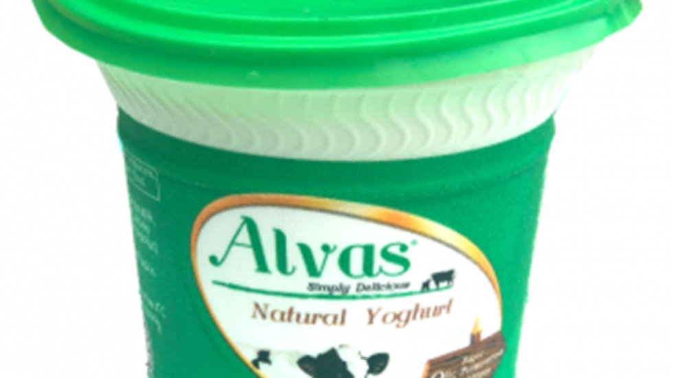 Alvas Natural Yoghurt 200ml