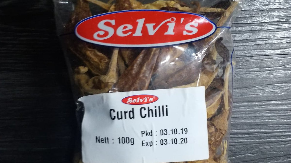 SELVI CURD CHILLY 100G