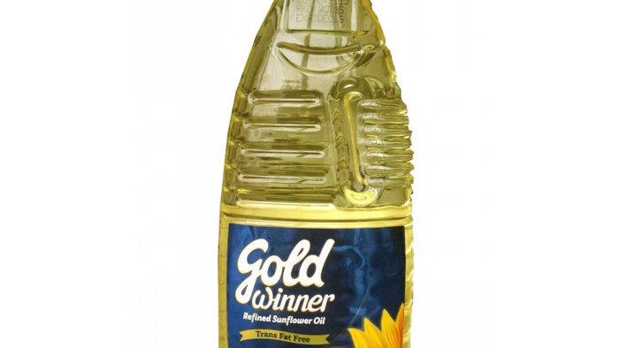 Gold Winner Sunflower Oil 1L