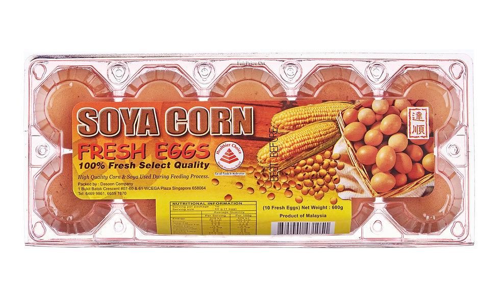 Egg 10s Soya Corn
