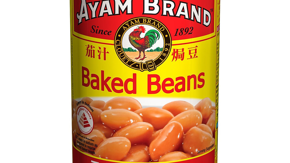 Ayam Brand Baked Beans Tomato Sauce 425G
