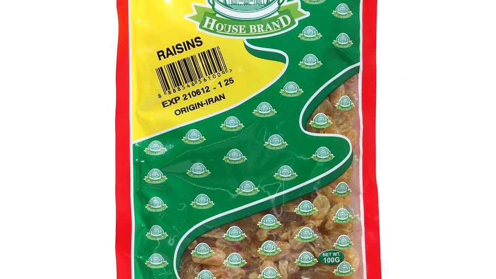House Brand Raisins 250G