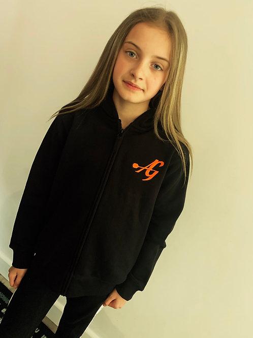 Achieve greatness zip up hoodie kids