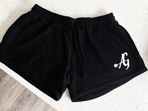 Ladies achieve greatness jogging shorts