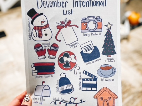 Using the December Intentional List
