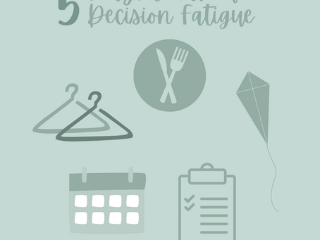 Avoiding Decision Fatigue
