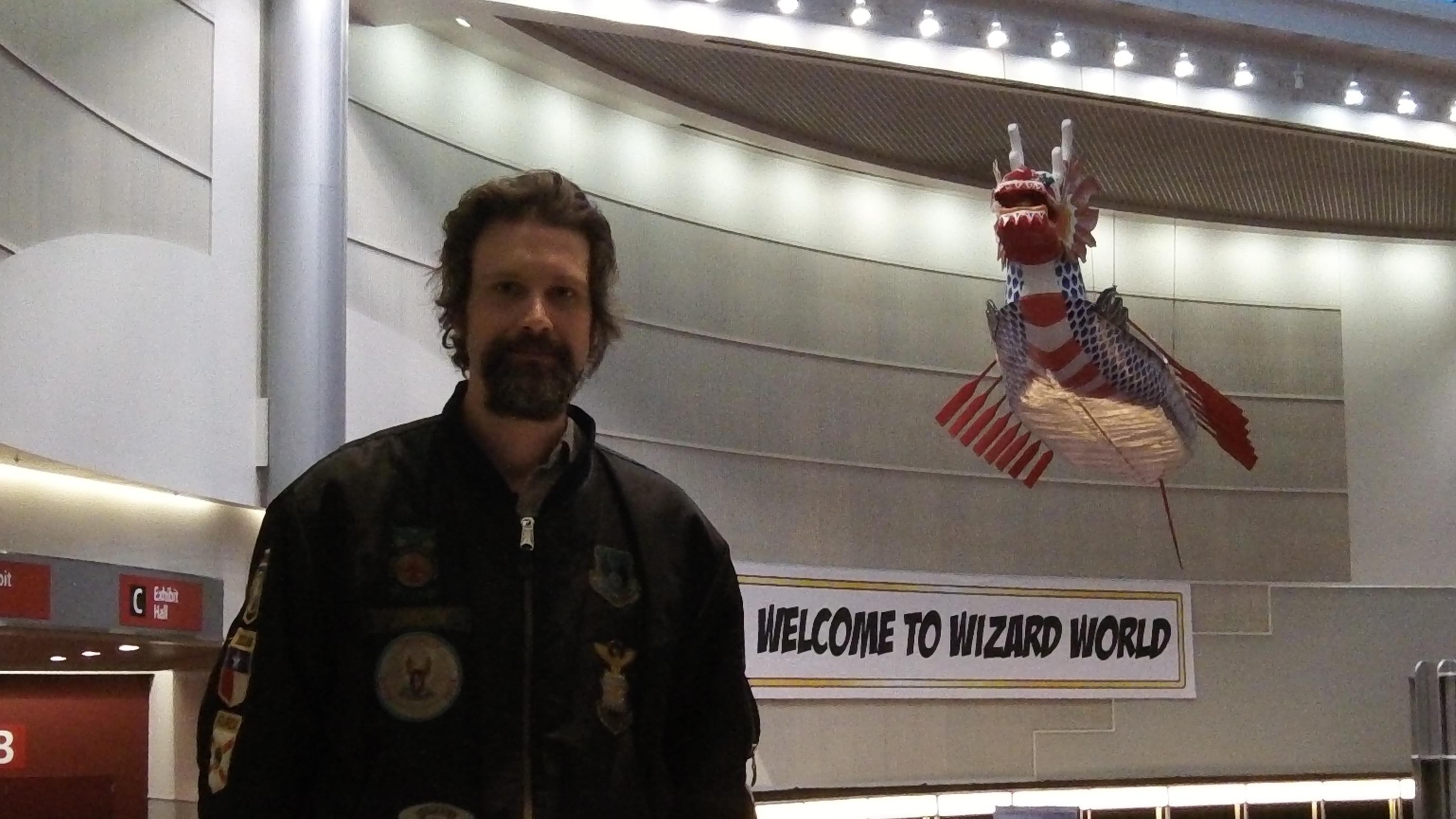 Joshua at Wizard World Portland
