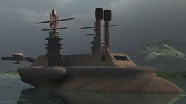 Ironsides on a Lake