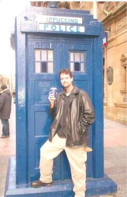 Joshua in Glasgow, Scotland (2007)