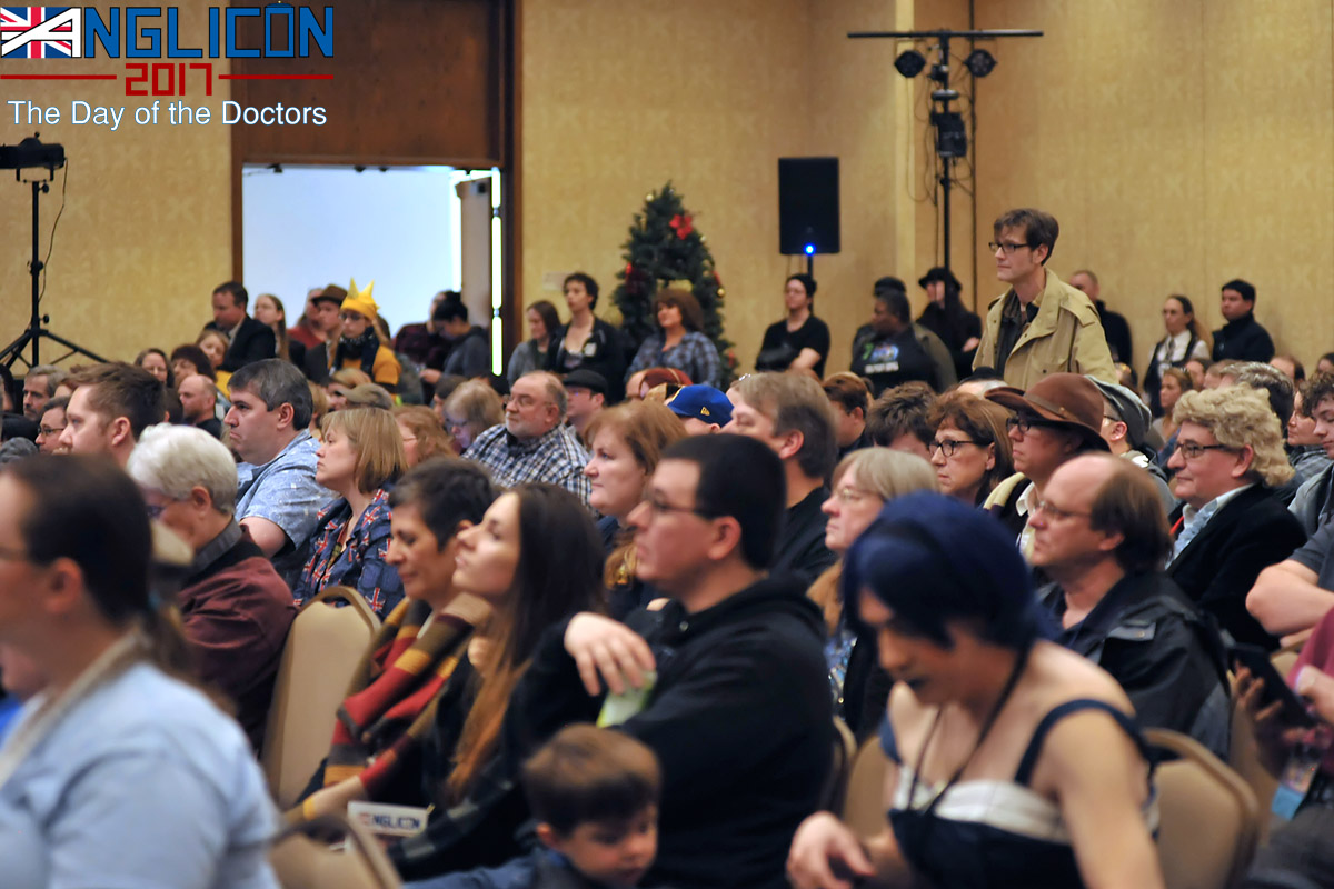 In the crowd at Anglicon by Andrew Sigue