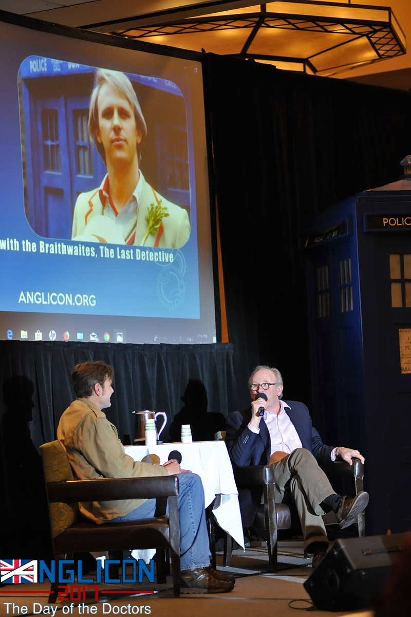 Interviewing Peter Davison 6 by Andrew S