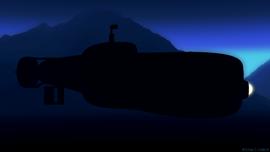 Small 30s submarine