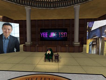 Yee Jee Tso at the Paradox Science Fiction Symposium