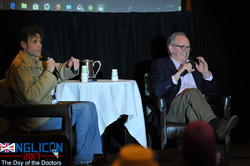 Interviewing Peter Davison by Andrew Sig