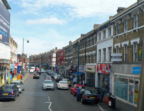 High Street Sweep in West Norwood