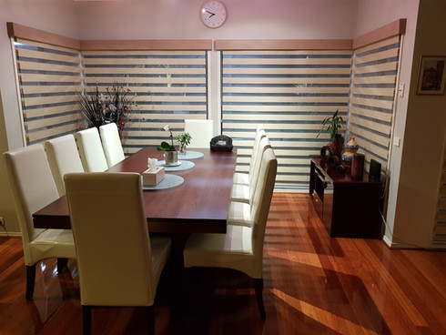 day and night roller blinds with pelmets