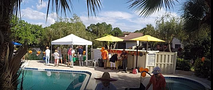 Steve Organek pool party