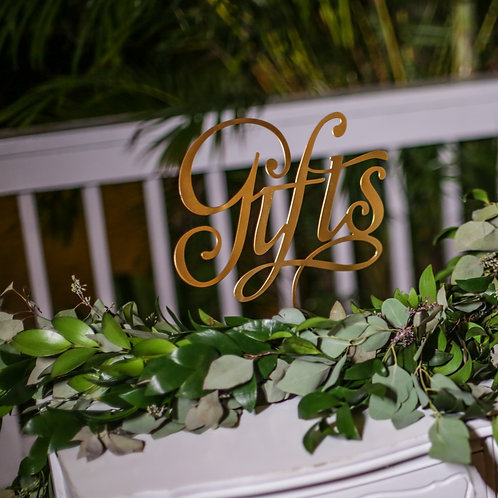 Guest Book & Cards/Gifts Sign