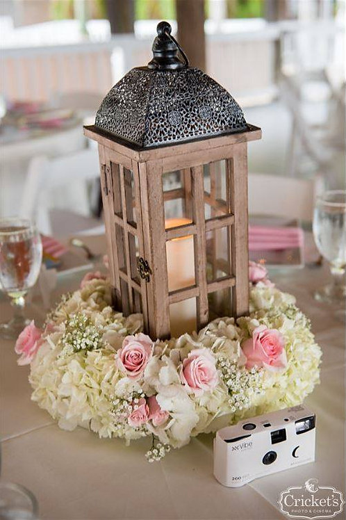 Lantern with Floral
