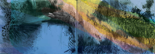 River Wandle (digital college) 2xA3
