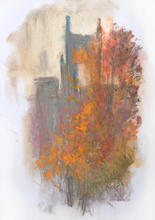 Carshalton Water Tower in Autumn