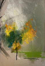 Autumn is there to lift the spirits. A4 Pastel on paper
